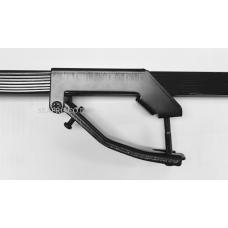 גגון מקשר אוניברסלי לרכב מוטות מתכת  -מקשר בסיסי למוטות אורך