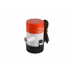 משאבת מים חשמלית בילג' 12V לא אוטומטית  750 גלון/שעה דגם BP1G750-01 תוצרת SEAFLO