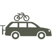 גגון מנשא אופניים לרכב
