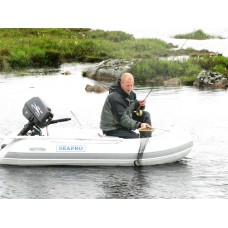 SEAPRO סירה גומי מקצועית רצפת אלומיניום קשיחה אורך 2.7 מטר תקן CE